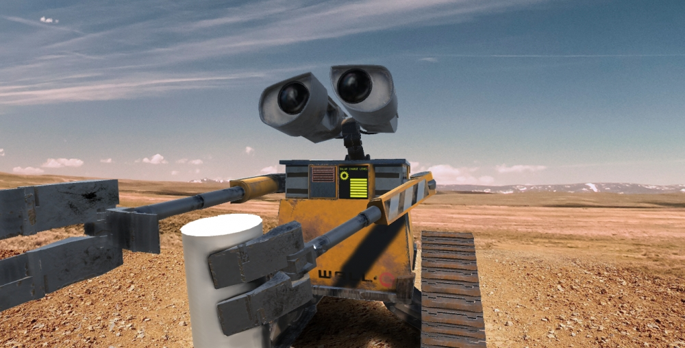 Wall-E model (3ds Max + Substance Painter